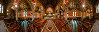All Saints' church, Putney Common - a 360° interior view